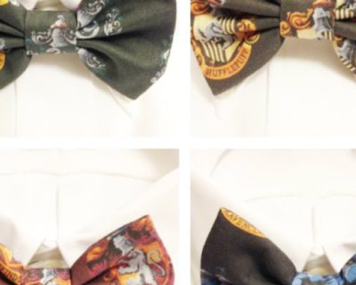 Harry Potter Inspired Hogwarts House Bowtie