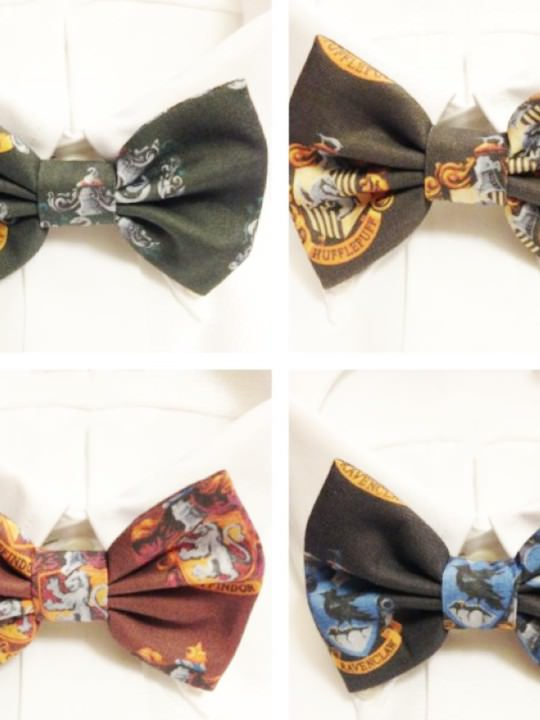 Vamers Store – Harry Potter Inspired Hogwarts House Bowtie – Product Image