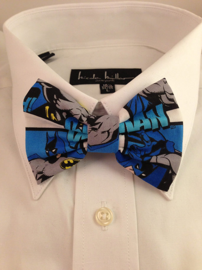 Vamers Store – South Africa – Merchandise – Apparel – Bowtie – DC Comics Batman Inspired Comic Print Bowtie 01