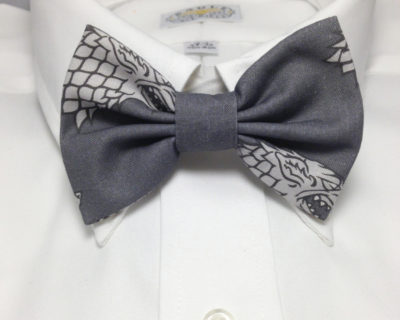 Game of Thrones Inspired House Stark Sigil Bowtie