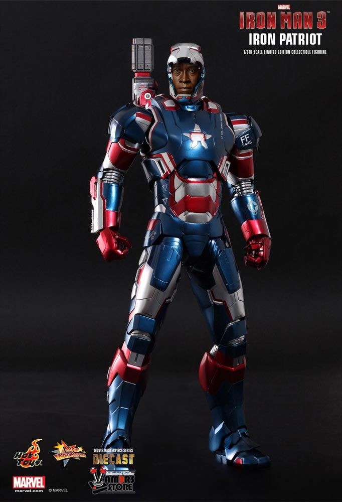 Iron Man 3 Toys ~ Hot toys iron patriot from man vamers store