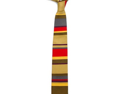 Doctor Who Fourth Doctor Necktie (Skinny)