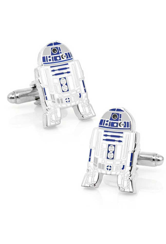 Vamers Store – Merchandise – Geek Chic – Accessories – Cufflinks – Star Wars Inspired R2-D2 Cufflinks 01