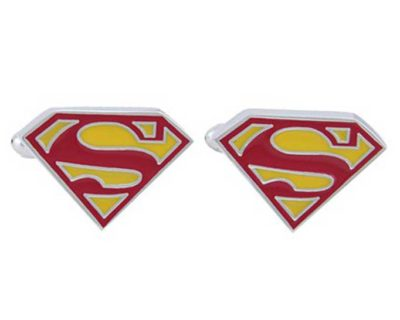 Classic Superman Inspired House of El Symbol Cufflinks