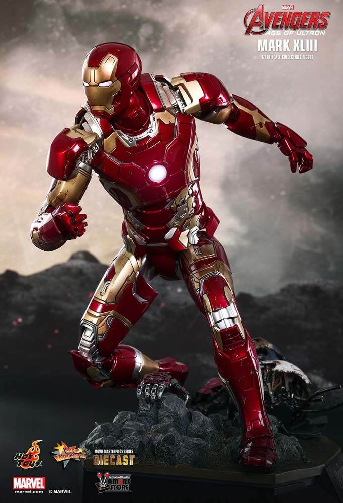 Vamers Store – Hot Toys – MMS278D09 – Avengers Age of Ultron – Iron Man Mark XLIII Exclusive Version 09