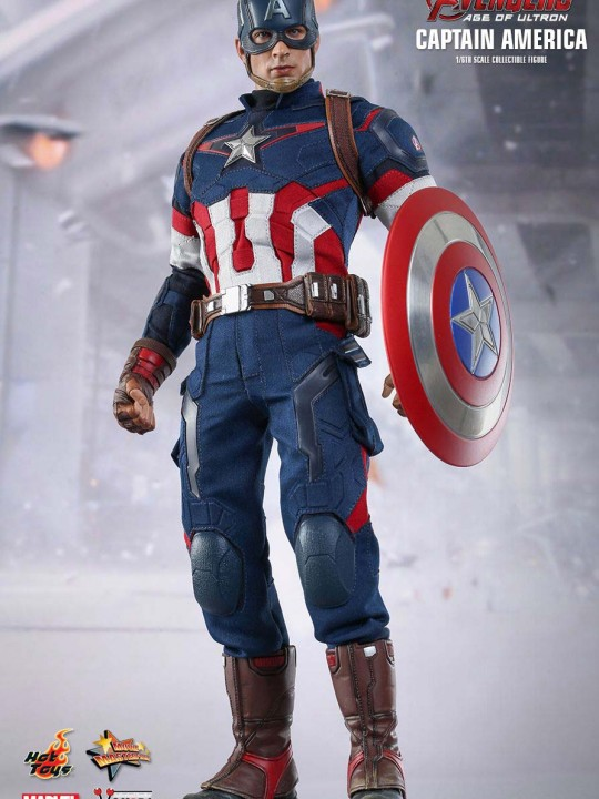 Vamers Store – Hot Toys – MMS281 – Avengers Age of Ultron – Captain America 01