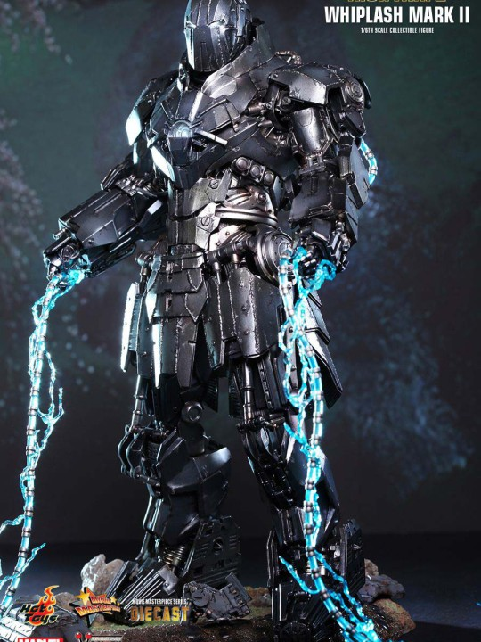 Vamers Store - Hot Toys - MMS237D06 - Iron Man 2 - Diecast Whiplash Mark II 01