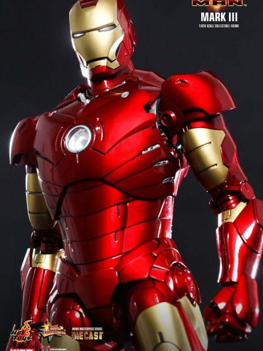 Vamers Store - Hot Toys - MMS256D07 - Iron Man (2008) -  Diecast Iron Man Mark III 05