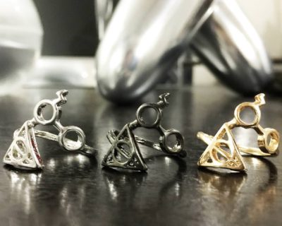Deathly Hallows Rings Inspired by Harry Potter