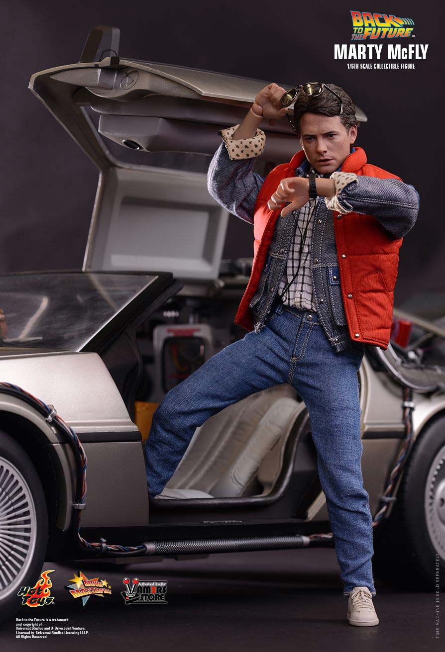 hot toys marty mcfly with bonus accessories vamers store. Black Bedroom Furniture Sets. Home Design Ideas