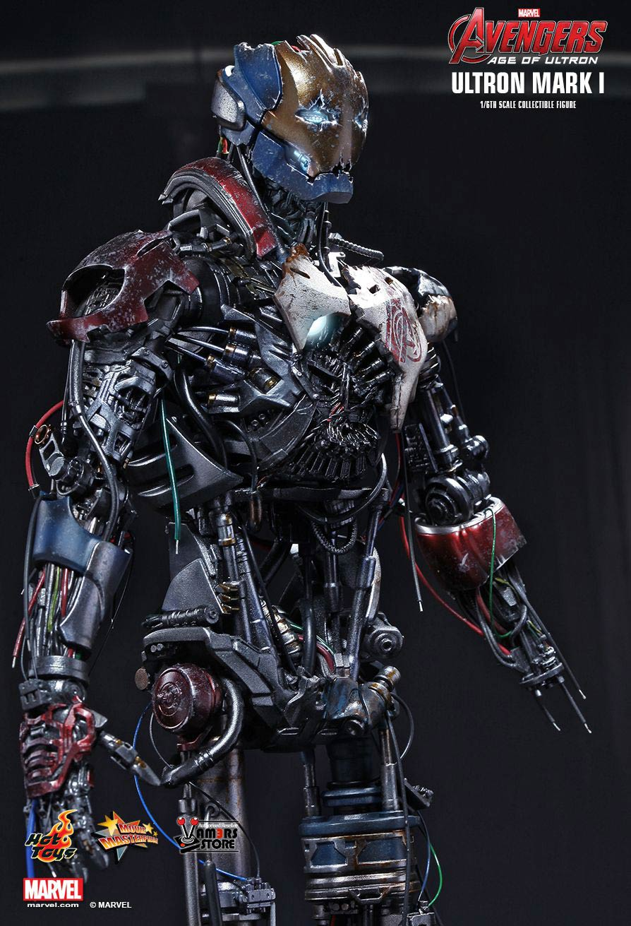 Hot Toys Ultron Mark I from Avengers: Age of Ultron