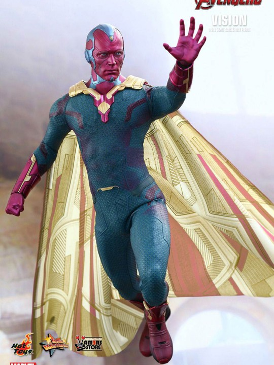 Vamers Store - Hot Toys - MMS296 - Avengers Age of Ultron - Vision 03