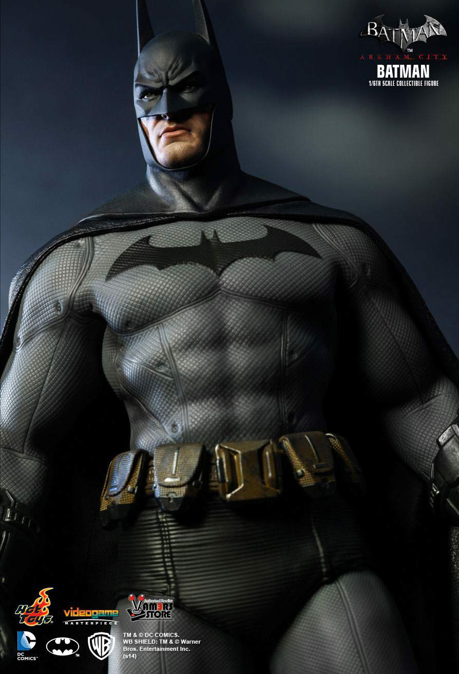 hot toys batman vgm18 from batman arkham city. Black Bedroom Furniture Sets. Home Design Ideas