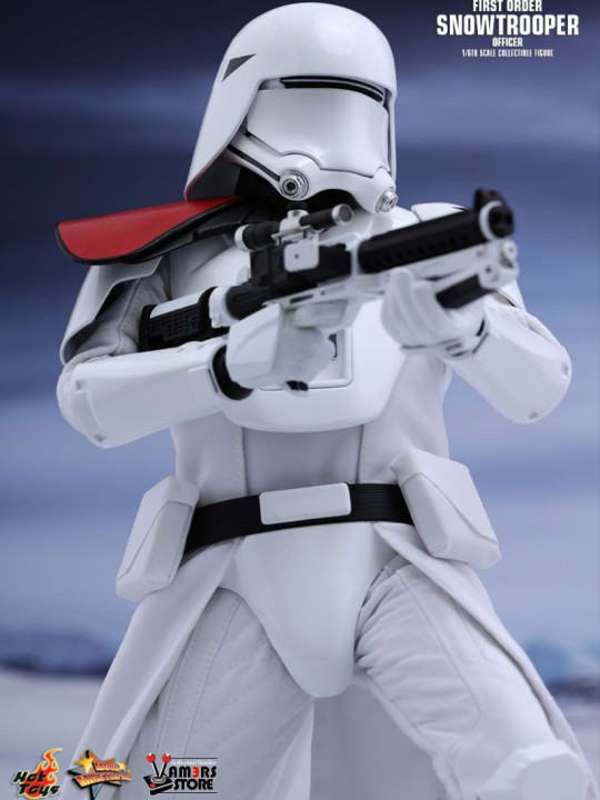 Vamers Store - Hot Toys - MMS323 - Disney's Star Wars Episode VII The Force Awakens - First Order Snowtroopers Collectible Set - 01