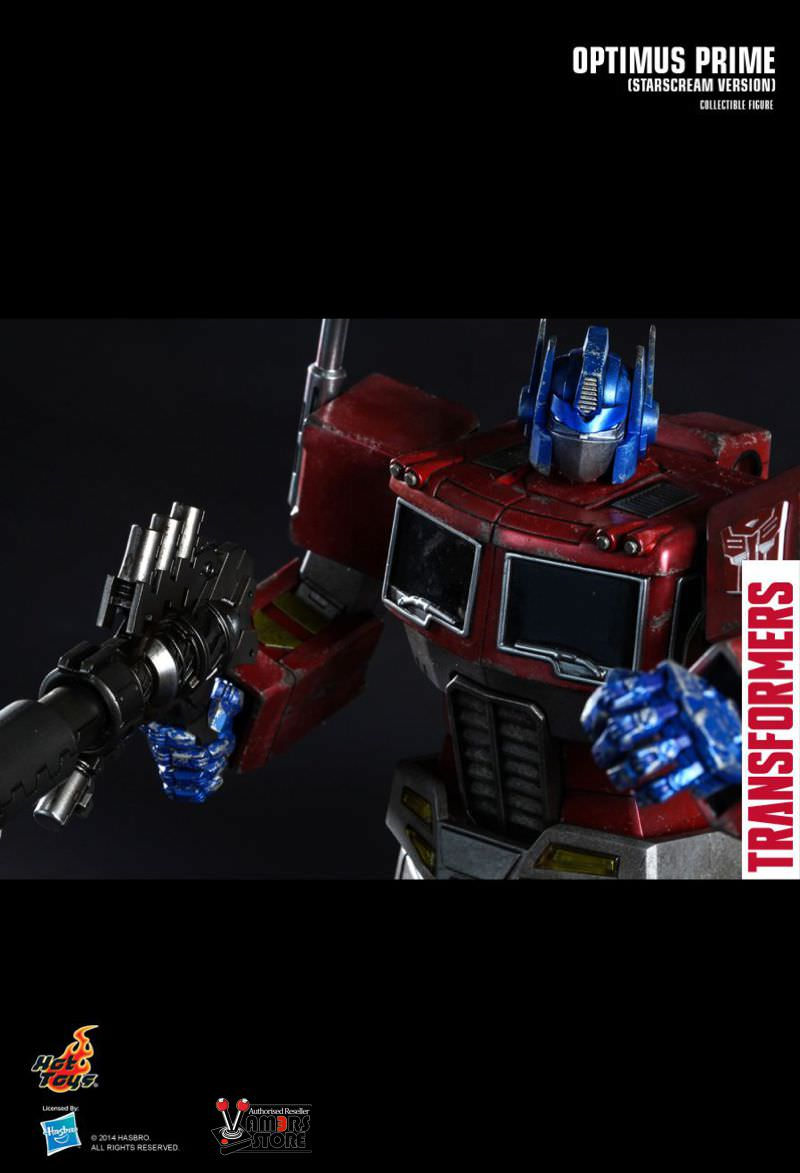 hot toys optimus prime collectible figure - vamers store