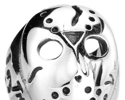 Friday the 13th Inspired Stainless Steel Jason Voorhees Ring