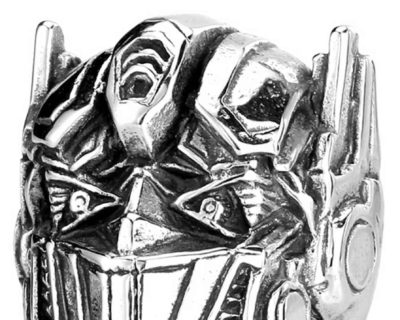 Transformers Inspired Stainless Steel Optimus Prime Ring