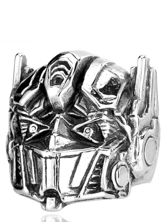 Vamers Store - Jewellery - Transformers - Stainless Steel Optimus Prime Ring - 01