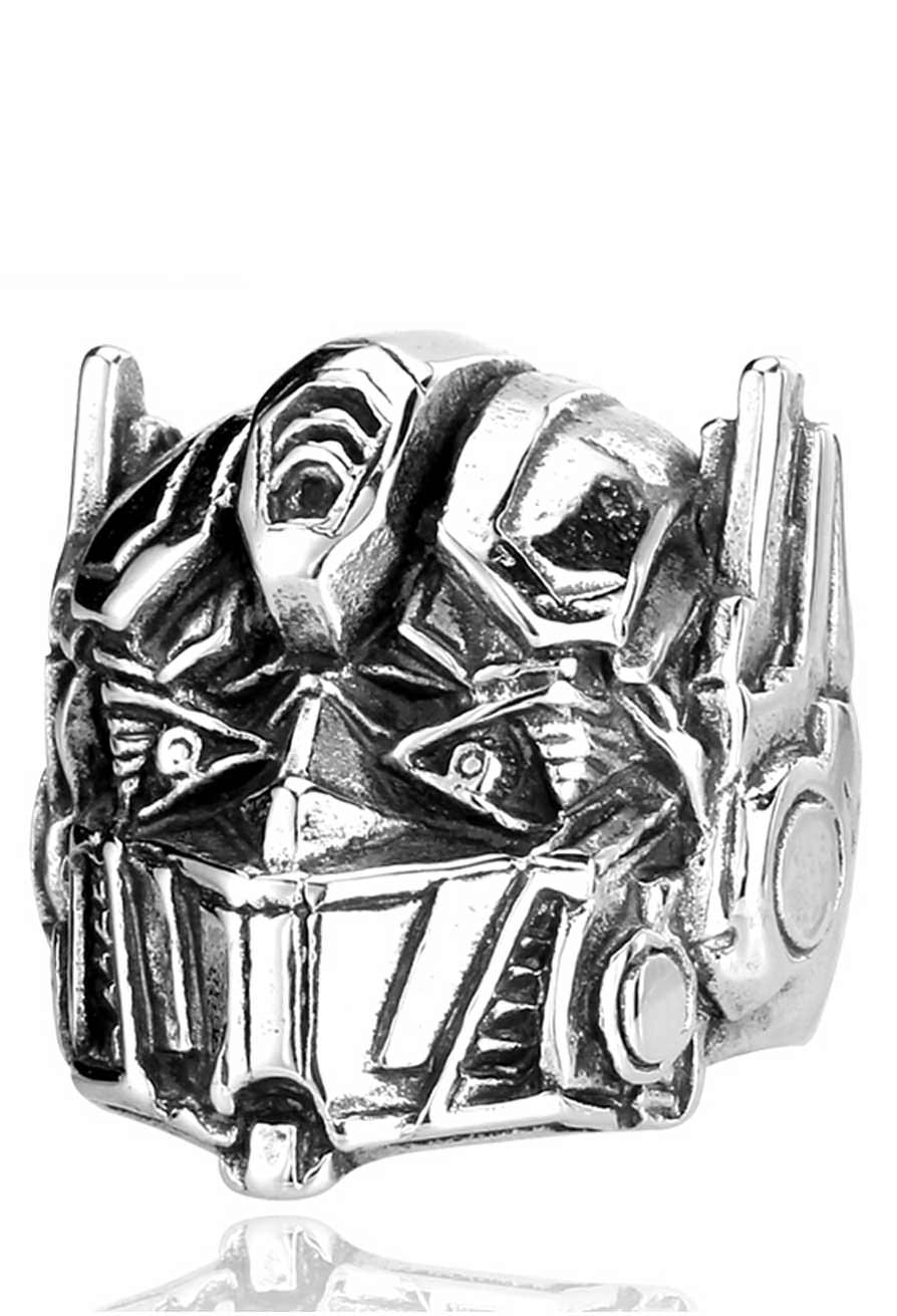 stainless steel transformers optimus prime ring | vamers store