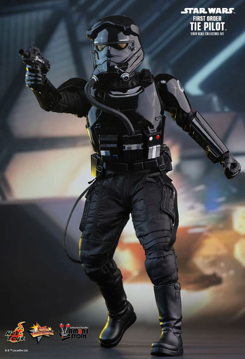 hot toys star wars first order tie fighter pilot vamers store. Black Bedroom Furniture Sets. Home Design Ideas