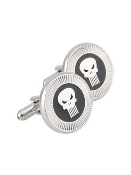 Vamers Store - Merchandise - Geek Chic - Accessories - Cufflinks - Punisher Inspired Cufflinks - 01