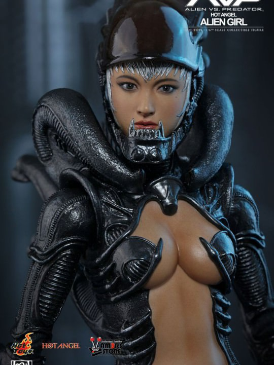Vamers Store - Hot Toys - HAS002 - Hot Angel - Aliens VS. Predator - Alien Girl - 17