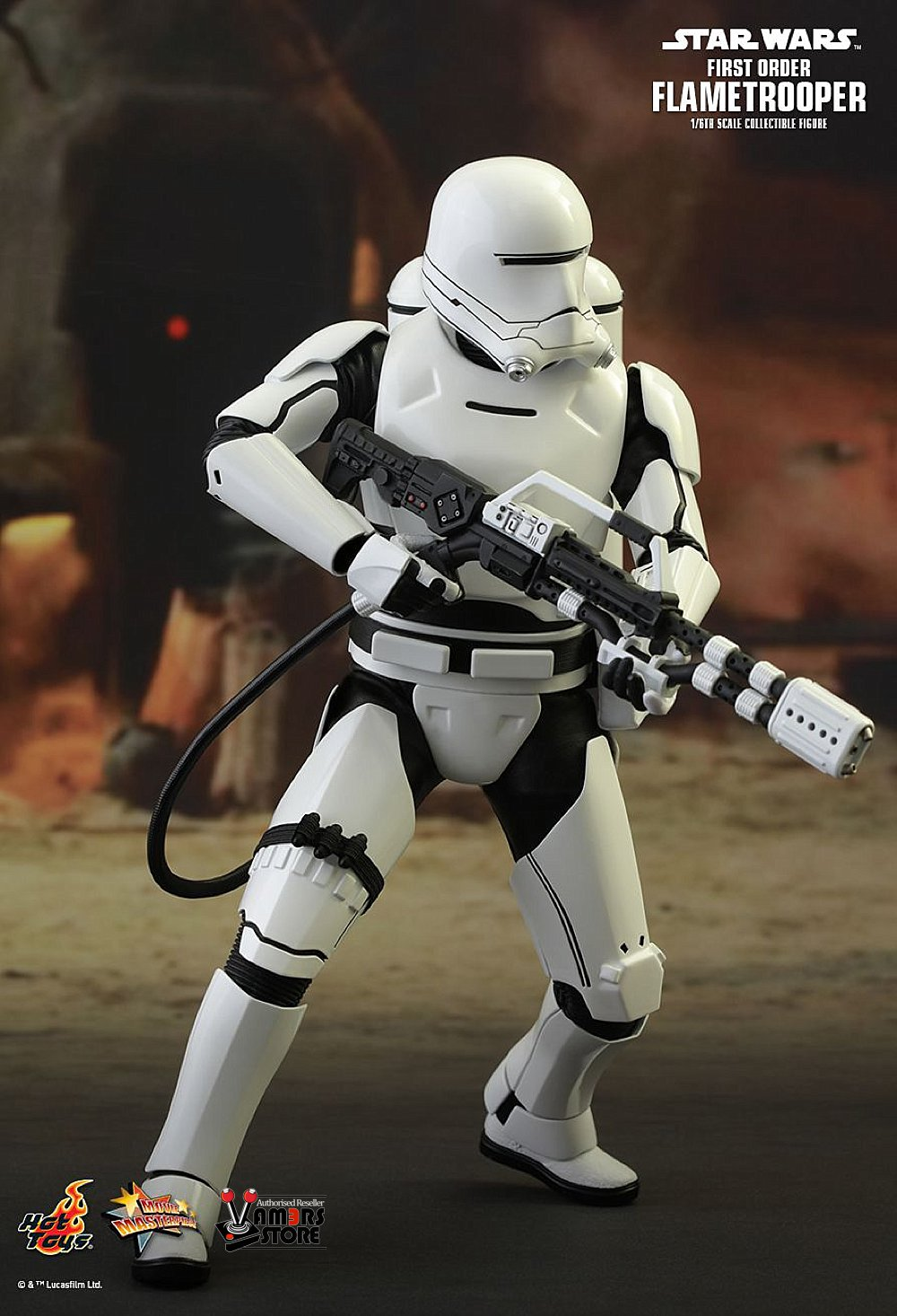 Toys Star Wars : Hot toys star wars first order flametrooper vamers store