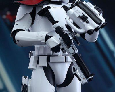 Hot Toys First Order Stormtrooper Officer and Stormtrooper [Collectible Set] from Star Wars: Episode VII The Force Awakens