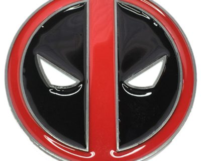 Deadpool Belt Buckle Inspired by Marvel Comics