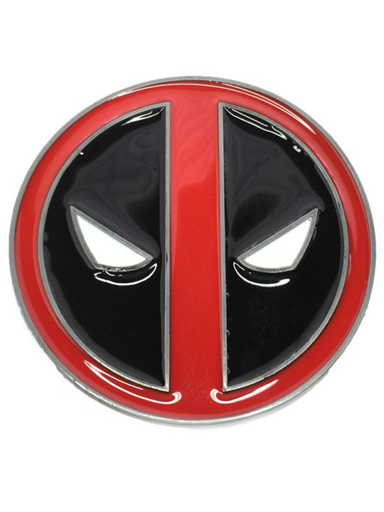 Vamers Store - Merchandise - Geek Chic - Accessories - Belt Buckles - Deadpool Belt Buckle inspired by Marvel's Deadpool - 01