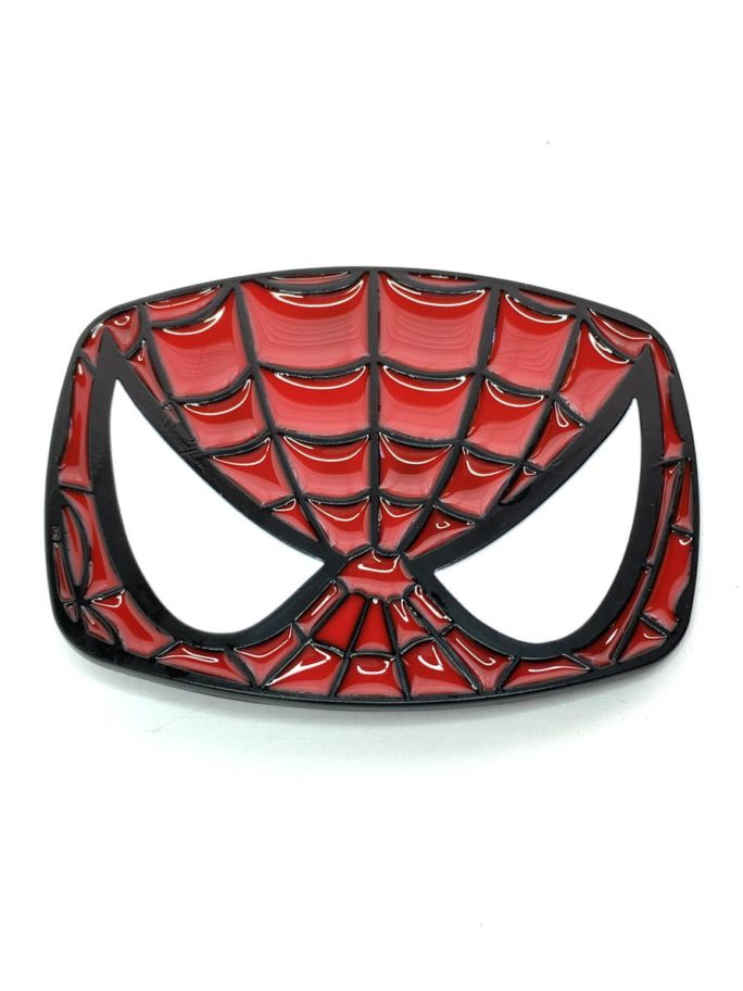 Vamers Store – Merchandise – Geek Chic – Accessories – Belt Buckles – Spider-Man Face Belt Buckle inspired by Marvel Comics – 01