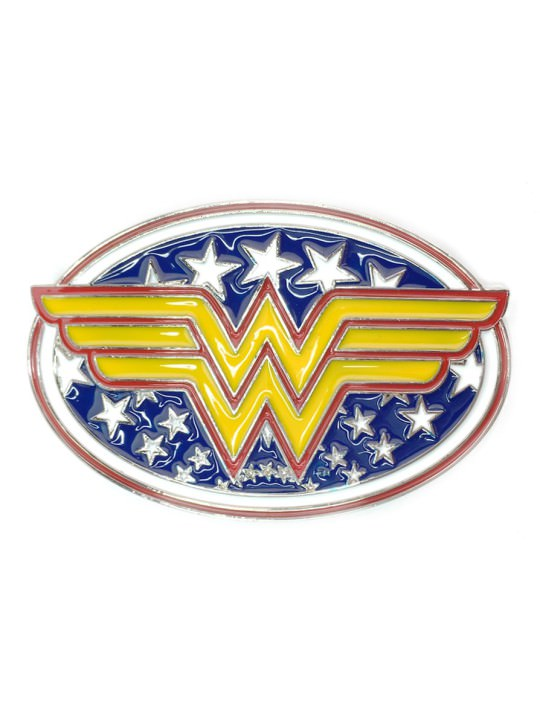 Vamers Store - Merchandise - Geek Chic - Accessories - Belt Buckles - Womder Woman Symbol Belt Buckle inspired by DC Comics - 01