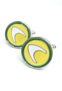 Aquaman Symbol Cufflinks Inspired by Aquaman