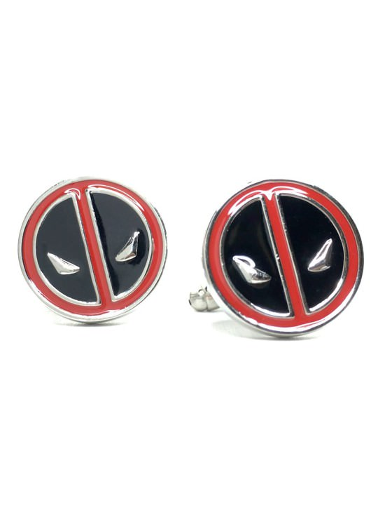 Vamers Store - Merchandise - Geek Chic - Accessories - Cufflinks - Deadpool Cufflinks inspired by Deadpool - 02