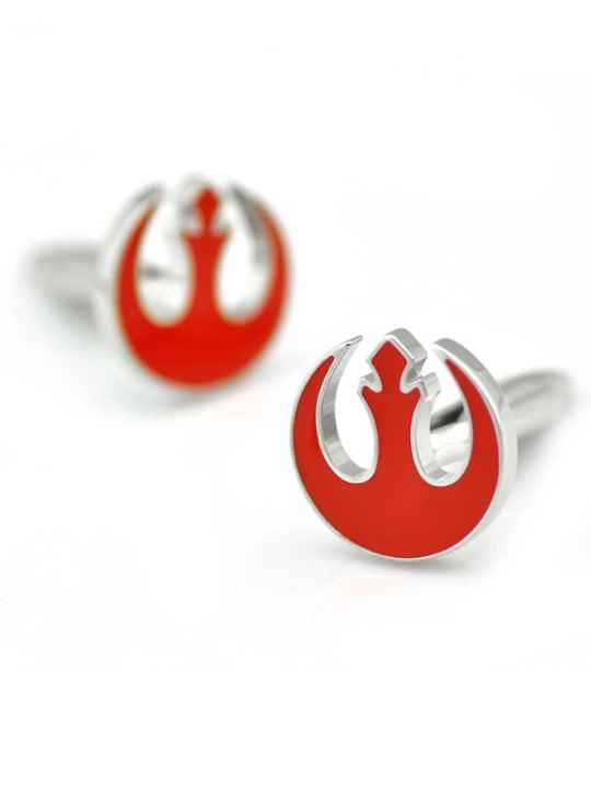 Vamers Store - Merchandise - Geek Chic - Accessories - Cufflinks - Star Wars inspired Rebel Alliance Cufflinks - 01
