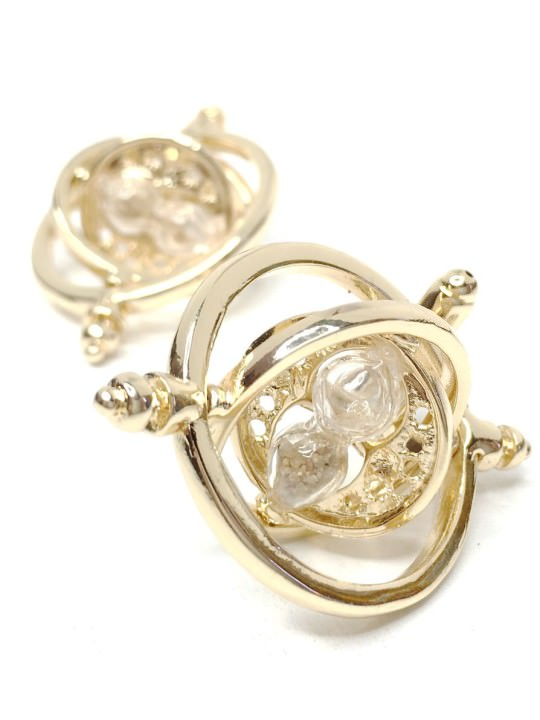 Vamers Store – Merchandise – Geek Chic – Accessories – Cufflinks – Time Turner Cufflinks inspired by Harry Potter – 05