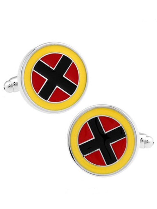 Vamers Store - Merchandise - Geek Chic - Accessories - Cufflinks - X-MEN Logo Cufflinks Inspired by the Original X-MEN Team - 02