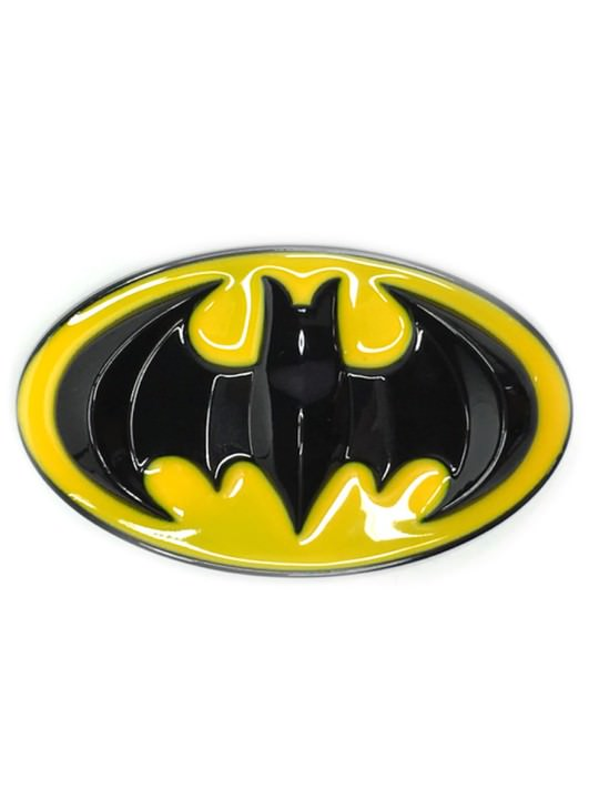 Vamers Store – Merchandise – Geek Chic – Accessories – Batman Classic Logo Belt Buckle inspired by DC Comics – 01