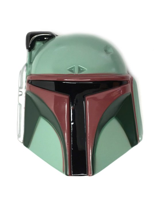 Vamers Store - Merchandise - Geek Chic - Accessories - Belt Buckles - 3D Boba Fett Helmet Belt Buckle inspired by Star Wars - 01