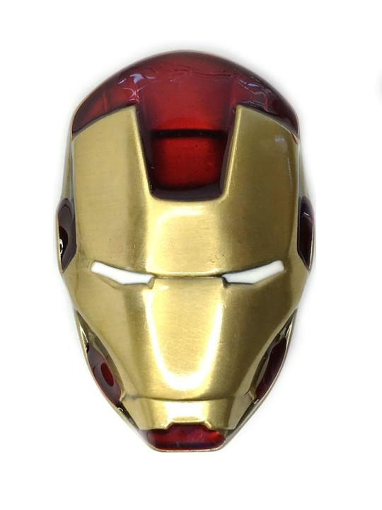 Vamers Store - Merchandise - Geek Chic - Accessories - Belt Buckles - 3D Iron Man Helmet Belt Buckle inspired by Marvel Comics - 01