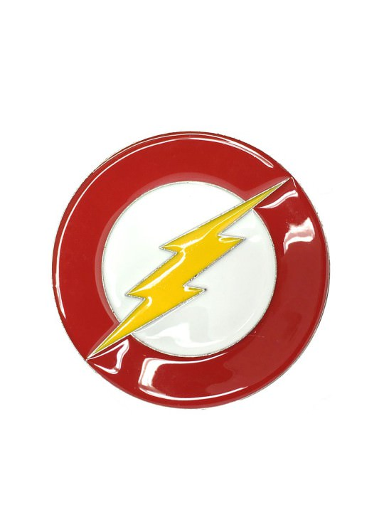 Vamers Store - Merchandise - Geek Chic - Accessories - Belt Buckles - The Flash Logo Belt Buckle inspired by DC Comics - 01