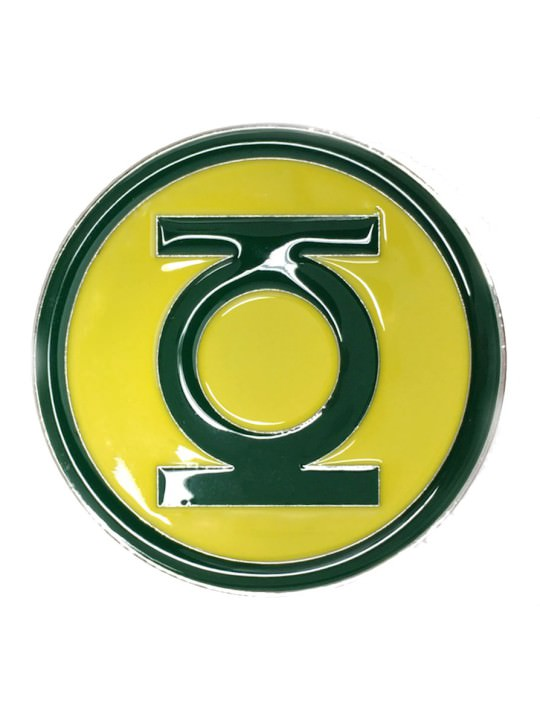 Vamers Store - Merchandise - Geek Chic - Accessories - Green Lantern Logo Belt Buckle inspired by DC Comics - 01