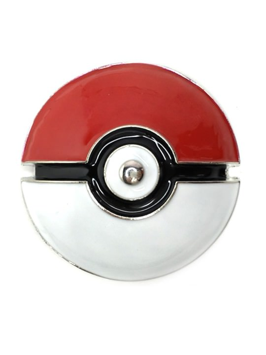Vamers Store - Merchandise - Geek Chic - Accessories - Poké Ball Belt Buckle inspired by Pokémon - 01