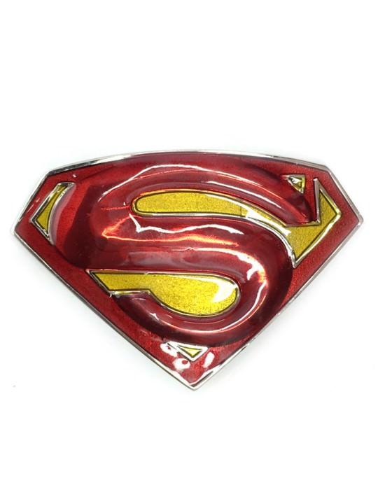 Vamers Store - Merchandise - Geek Chic - Accessories - Superman Returns Logo Belt Buckle inspired by DC Comics - 01