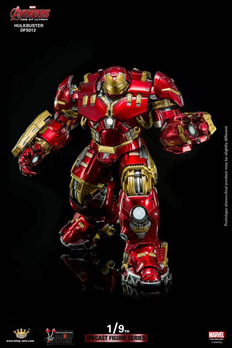 Diecast King Arts Hulkbuster from Avengers: Age of Ultron ...