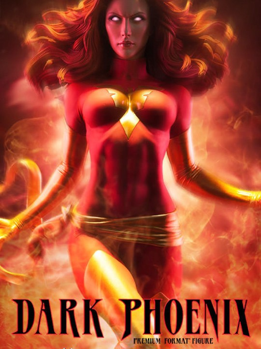 Vamers Store - Sideshow Collectibles - VS-SSC-PFF-DP - Premium Format Figure - Dark Phoenix - 01