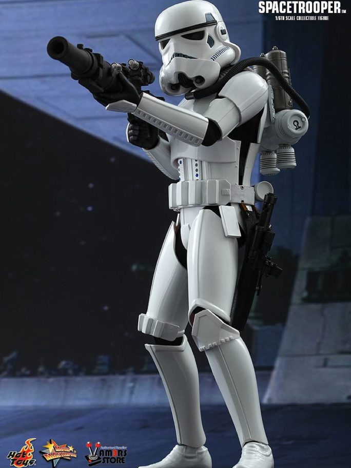 Vamers Store – Hot Toys – MMS291 – Disney's Star Wars Episode IV A New Hope – Spacetrooper – 01