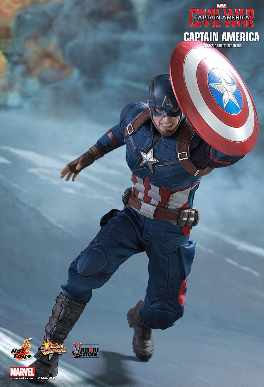 hot toys captain america collectible from captain america