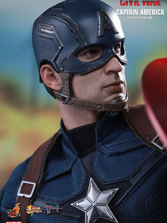 Vamers Store - Hot Toys - MMS350 - Marvel's Captain America Civil War - Captain America 19