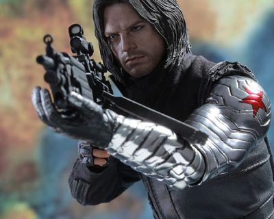 Hot Toys Winter Soldier Collectible from Captain America: Civil War